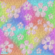 Sims 2 — EponaFurryliciousSet1 - Efl1f by EponaValkyrie — Part of my Furrylicious set 1. A psychadelic rainbow coloured