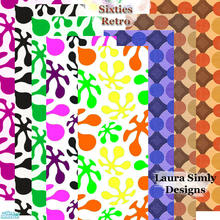 "Sims 2 — Laura Simly Sixties Retro Color Set by debs913 — You bet your bippy, these wallpapers are from the ""Sock"