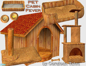 Sims 2 — Pet Cabin Fever by Cerulean Talon — Do your pets deserve the very best in rustic living? Then you have found the