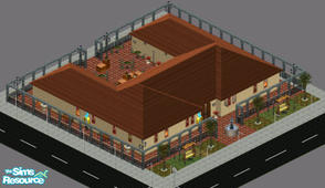 Sims 1 — Il Ristorante by frisbud — The best fine dining that SimCity has to offer. Bring your date Downtown to enjoy a