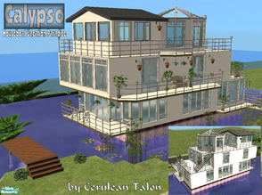 Sims 2 — Calypso Houseboat Vacation by Cerulean Talon — Are your Sims ready for that leasurly and posh vacation down