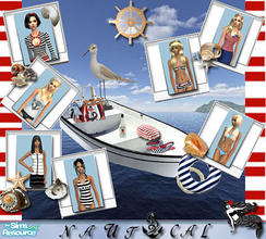 Sims 2 — collection - \'nautical\' by Sasetka — Happy Simming:-)