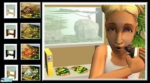 Sims 2 — Ball Python Pet Set by PureElements — This cute little mini python is a fun and playful pet!
