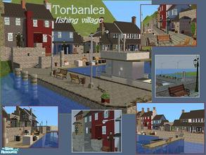 Sims 2 — Torbanlea Fishing Village by laivine_erunyauve — Let your sims be charmed by life in this cosy fishing village