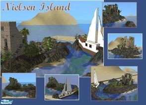 Sims 2 — Nielsen Island by laivine_erunyauve — Winner of the July 2008 S2HBAA Building Contest. Nielsen Island is named