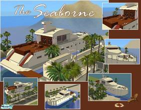 Sims 2 — The Seaborne by laivine_erunyauve — This luxurious yacht is perfect as a full-time home or a vacation home! The
